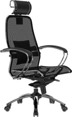 Кресло руководителя Samurai S-2 с подголовником