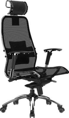 Кресло руководителя Samurai S-3 с подголовником