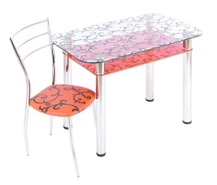 Стеклянные столы для кухни купить в новосибирске