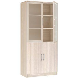 Шкаф двухдверный со стеклом 20.21 Соло