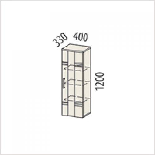 Мэрдэс Стеллаж мэрдэс, локарно, 67,2x38x199,2 см,~(K-ASJRW-F)