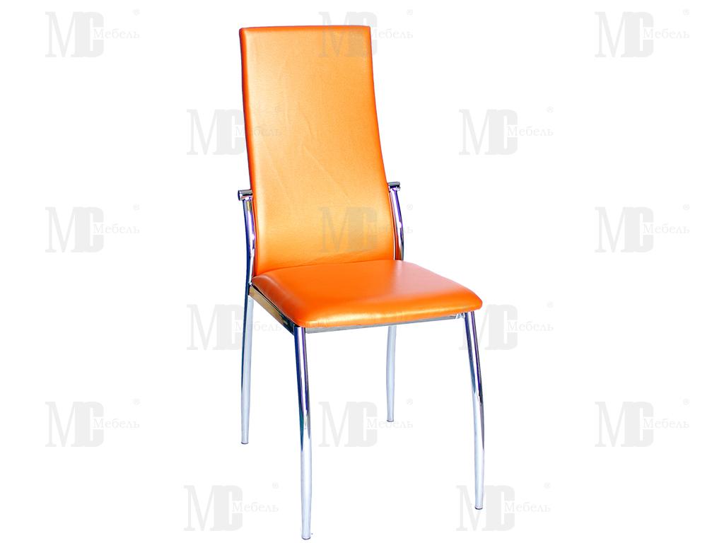 Стул PU-7312 N оранжевый