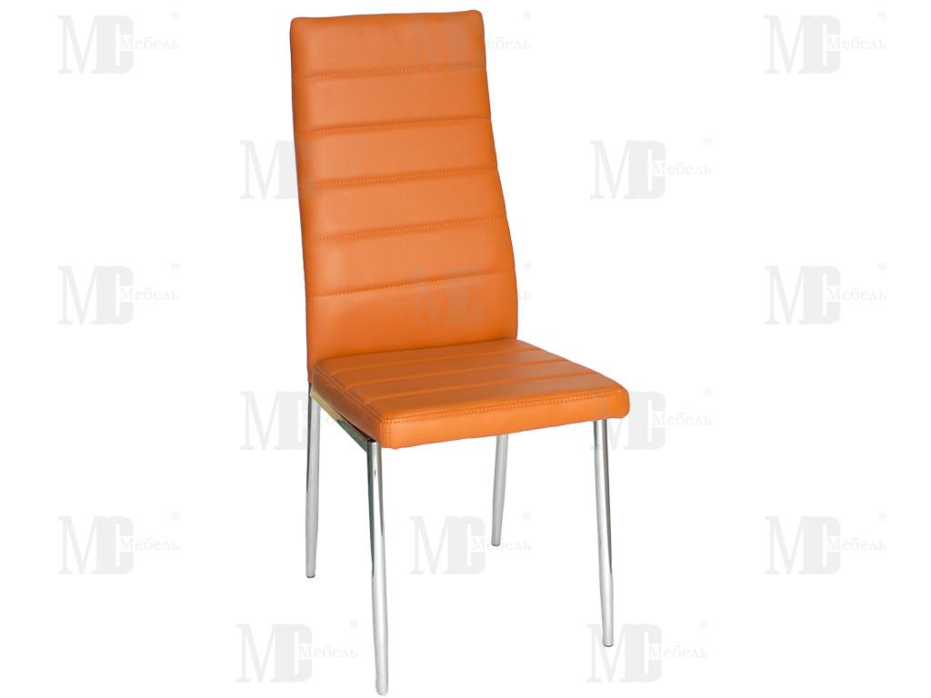 Стул PU-7318 оранжевый