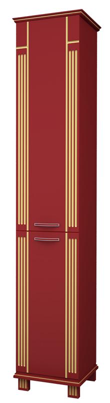 Шкаф-пенал Афина 38 (вишня)