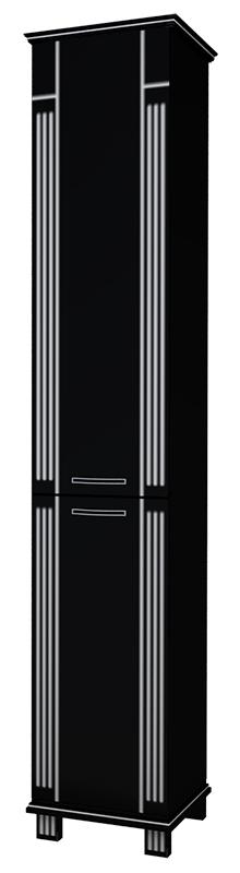 Шкаф-пенал Афина 38 (чёрный)