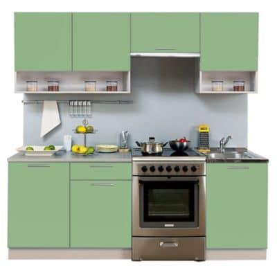 Кухня Симпл 2100 с нишей