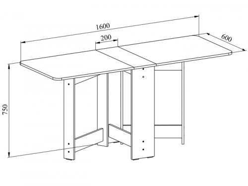 Кухонный стол-тумба своими руками чертежи и схемы сборки 43