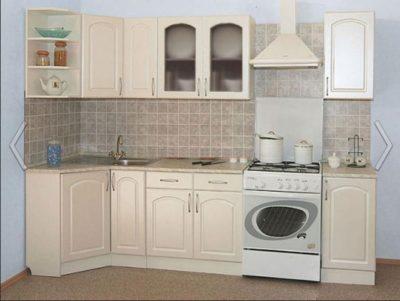 Кухня Трапеза Классика угловая 900x2100