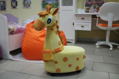 Пуф Жираф