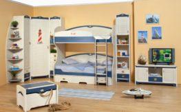 Детская комната Колумбус (белый)1