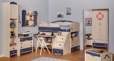 Детская комната Колумбус (белый)5