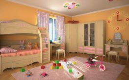 Детская комната Николь