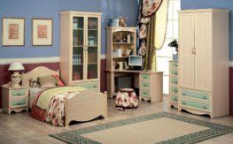 Детская комната Николь(зеленая)1
