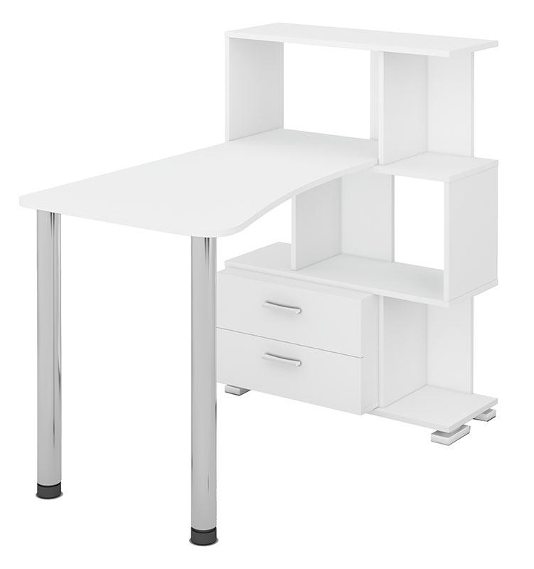 Компьютерный стол СЛ-5-3СТ-2+БЯ