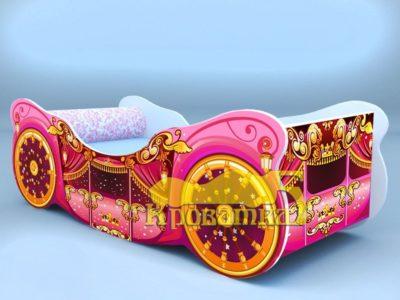 Кровать карета люкс