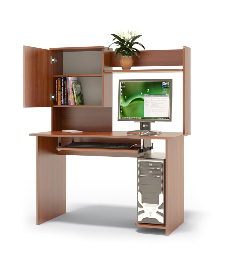 Компьютерный стол КСТ-04+КН-24