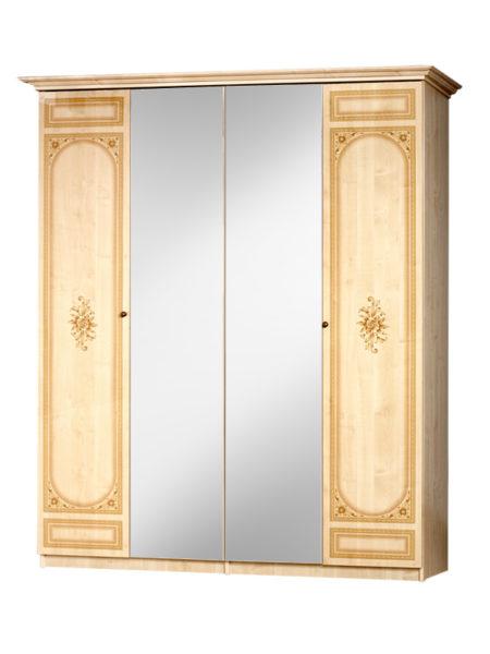 Шкаф 4-х. дверный 111/541 Европа 11