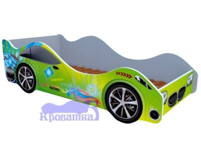 Кроватка спорт зеленая