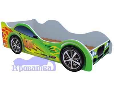 Кроватка зеленый форсаж