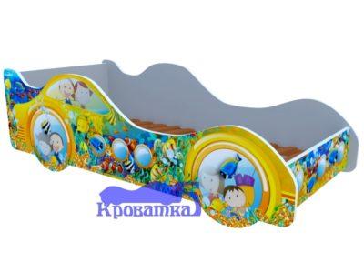 Кроватка субмарина желтая