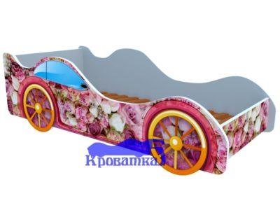Кроватка пионы