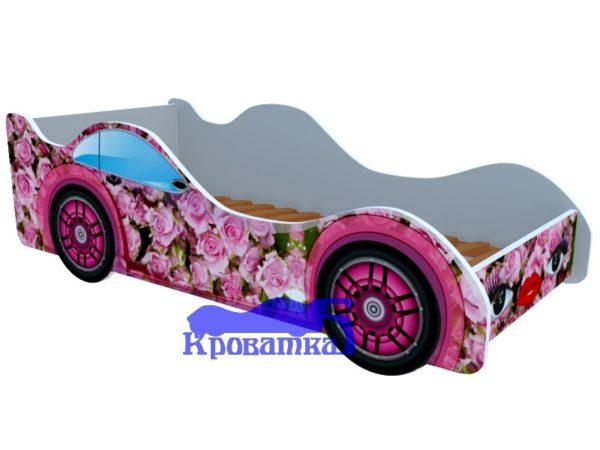 Кроватка розовые розы