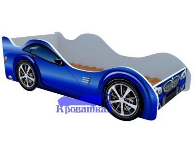Кроватка БМВ синяя