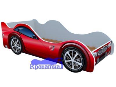 Кровать БМВ красная