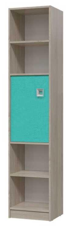Шкаф стеллаж с дверкой Сити