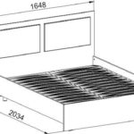АМ-13 Кровать двуспальная