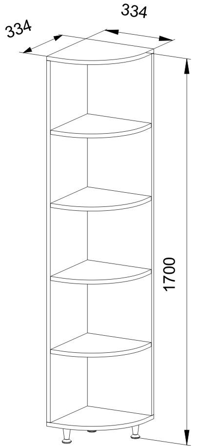 Сегмент угловой ДК-5