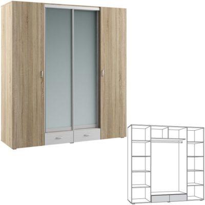 Шкаф 4-дверный Линда 312