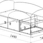 МДМ-1 Кровать