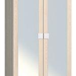 АМ-01 Шкаф платяной с зеркалом Александрия