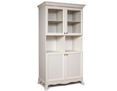 Шкаф 2-х дв. (две малые двери и два витража) Амели АМШ2/2[4]