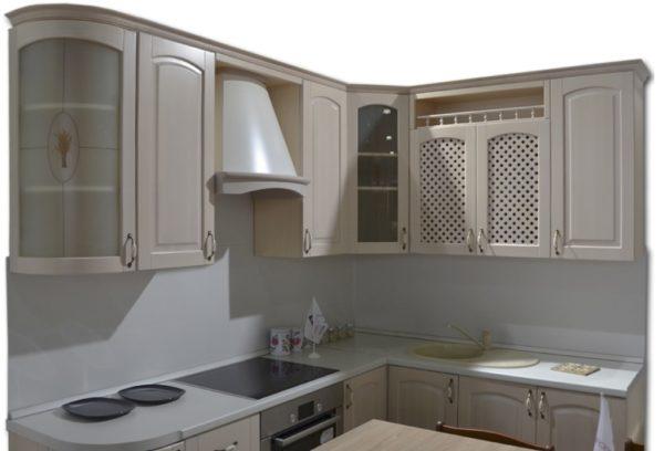 Кухня Массив-Люкс 1735х1800