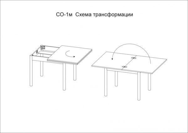 Кухонный стол СО-1м