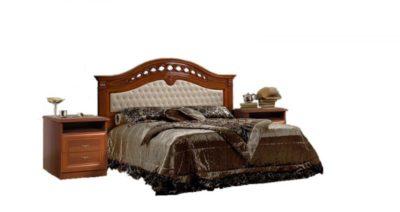 Кровать  Delia D7/241 с одной мягкой спинкой Европа 7