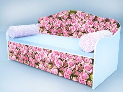 Диван - кровать розы