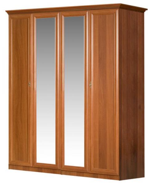 Шкаф 4-х створчатый с зеркалом 071/151 Европа-7