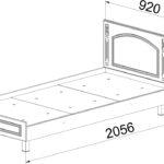 ЭМ-17 Кровать односпальная