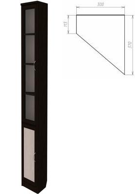 Шкаф для книг Гарун 209
