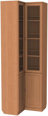 Шкаф для книг угловой Гарун 211