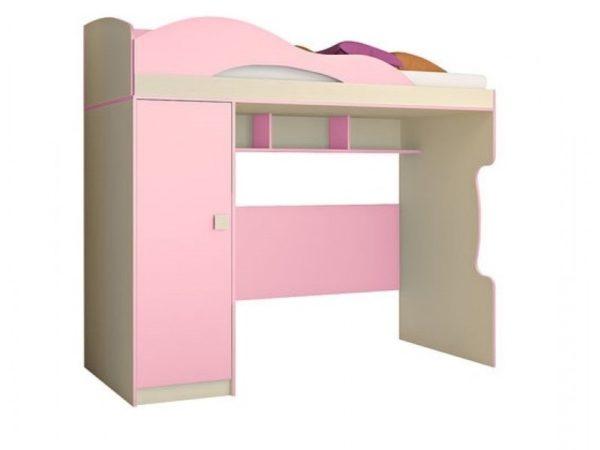 Кровать 2-этаж + пенал Радуга