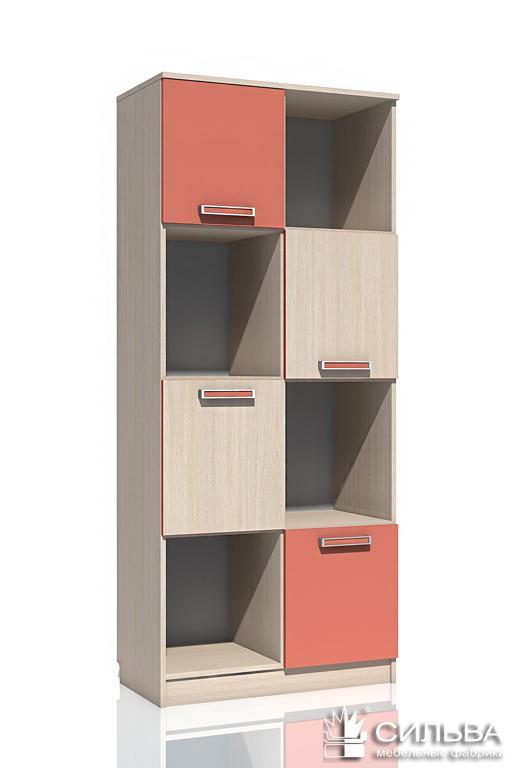 "Шкаф для книг НМ 009.06 М ""Рико"""