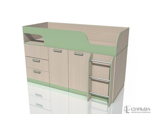 """Кровать с поворотным столом НМ 011.55 """"Рико"""" Модерн"""