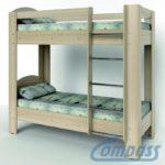 Кровать двухъярусная КД-02
