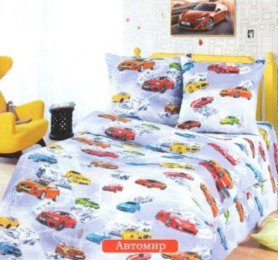 Комплект постельного белья Детское Автомир