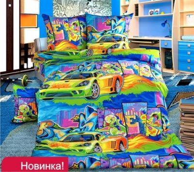 Комплект постельного белья Детское Графити
