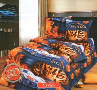 Комплект постельного белья Детское Ягуар